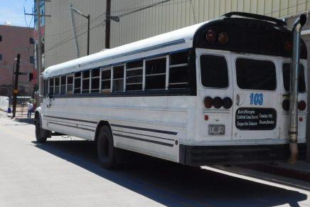 Implementarán operativo preventivo contra asaltos y robos en camiones urbanos de Nogales