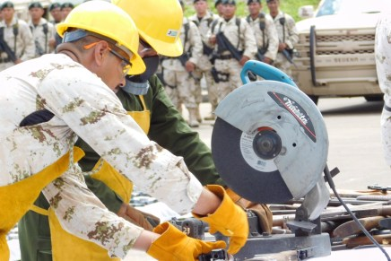 Destruye Sedena miles de armas aseguradas en Sonora, tras hechos delictivos