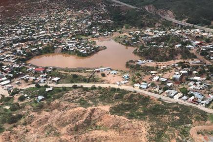 Descartan riesgos graves en Nogales debido a recientes tormentas