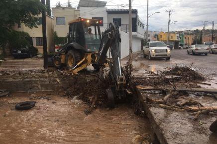Atiende municipio problemas causados por las lluvias