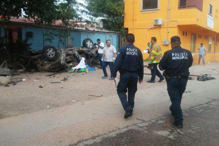 Avanzan investigaciones en accidente vial donde murieron tres personas: FGJE