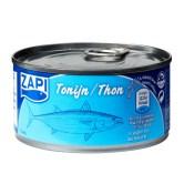 tonijnsalade: frisse tonijn salade snel recept. Goedkoop en belangrijk, caloriearm.