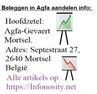 Agfa Gevaert Mortsel Belgium. Agfa stock info.