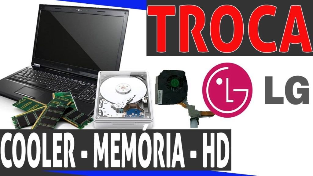 limpeza de cooler notebook lg r5