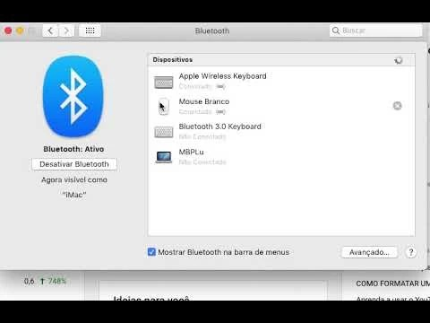 Como renomear o Mouse Bluetooth ou outro dispositivo Apple