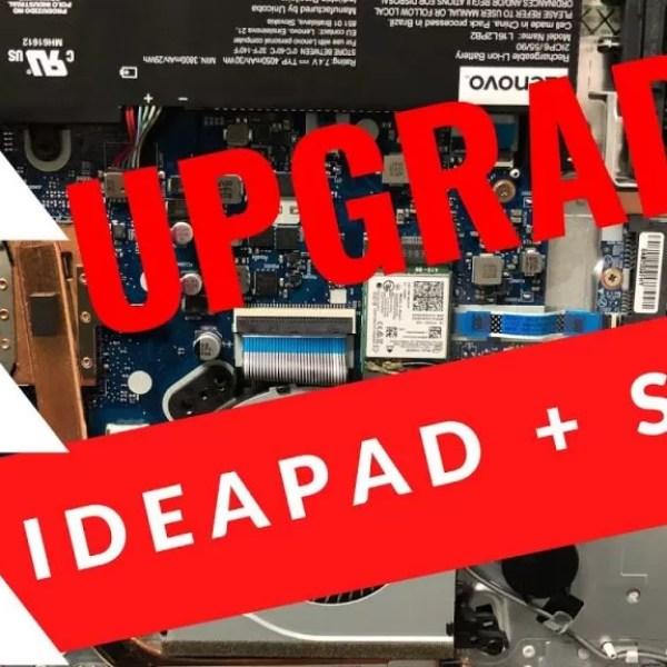 ssd lenovo ideapad upgrade