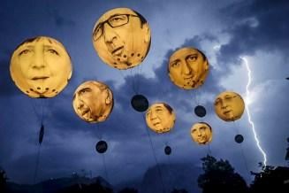 ФОТО ДНЯ: Гроза на саммите G7