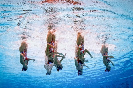 Фото дня: Чемпионат мира в Казани: красота под водой