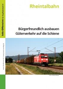 Rheintal - Bürgerfreundlich ausbauen Güterverkehr auf die Schiene - Schluss mit den überlasteten Autobahnen