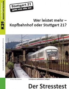 Der Stresstest Flyer