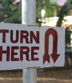 'U' turns