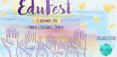 Asociația EduBiz vă invită la EduFest, un spațiu comun de întâlnire și interacțiune între tineri