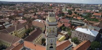 Turnul Primariei Oradea (Turnul cu Ceas). GALERIE FOTO