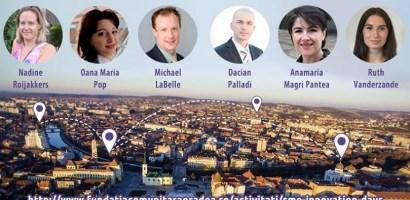 """Vorbitori de marca la evenimentul """"Ziua inovarii pentru IMM-uri"""", organizat de Fundatia Comunitara Oradea"""