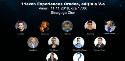 11even Experiences Oradea 2016 la a V – a editie. Solistul trupei VUNK, unul dintre invitatii de marca