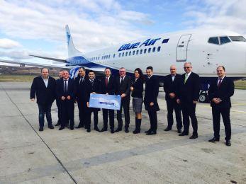 Blue Air deschide o bază operaţională pe Aeroportul Cluj-Napoca. Ce curse externe vor avea