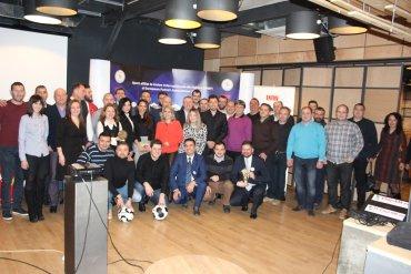 """Gala """"Tenis cu piciorul 2016"""" – o reușită deplină a Asociației de Futnet România"""