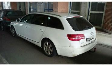 Un Audi A6, cautat de autoritatile din polonia, confiscat in Vama Bors