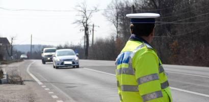 Excesul de viteză în trafic, sancţionat cu fermitate de poliţiştii bihoreni.