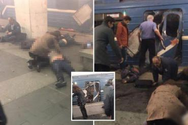 UPDATE! Atentat terorist la un metrou din Sankt Petersburg, 10 morti si peste 50 de raniti. (FOTO/VIDEO)