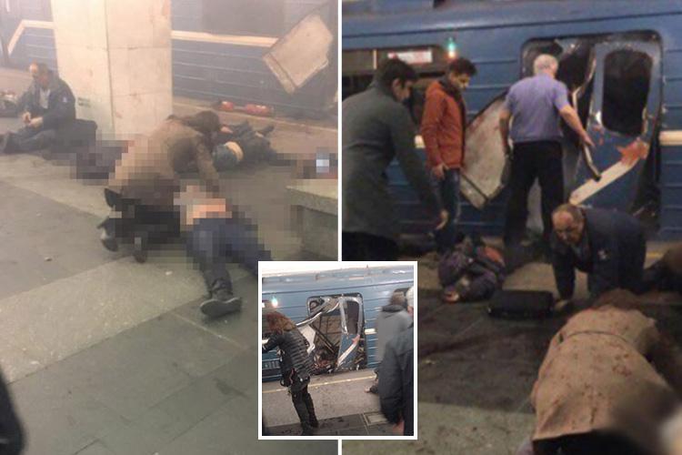 UPDATE! Atentat terorist la un metrou din Sankt Petersburg, 10 morti si peste 50 de raniti. (FOTO/VIDEO)
