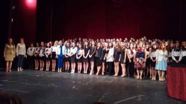 """Festivitate de absolvire la Colegiul """"Mihai Eminescu"""" din Oradea (FOTO)"""