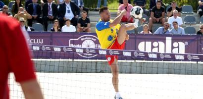 Echipa Romaniei de futnet, condusa de bihoreanul Georgel Bobis, va participa la Campionatul Mondial de Futnet din noiembrie de la Cluj-Napoca