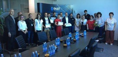 Elevii de la Școala Profesională Eurobusiness, premiați de FAIST MEKATRONIC cu locuri de muncă