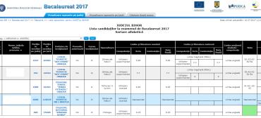 Rezultate finale Bacalaureat 2017-Bihor. 9 medii de 10 si 70% promovabilitate