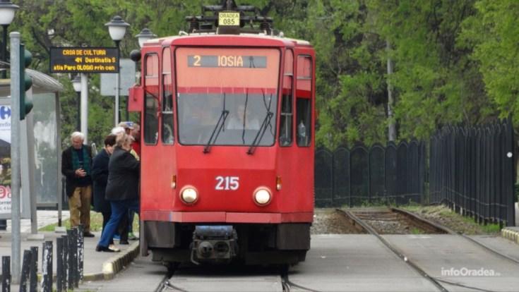 Programul tramvaielor si autobuzelor, din Oradea, in 14 si 15 august