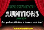 NOLLYWOOD AUDITION 2019/2020- Register today, become a super star- Audition Tips