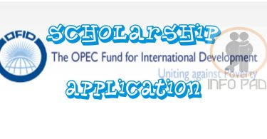 OPEC SCHOLARSHIP APPLICATION 2018/2019- How to successfully apply for the OFID Scholarship