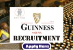 guiness diageo recruitment