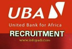 UNITED BANK OF AFRICA PLC (UBA) RECRUITMENT 2018- Customer Care Department- Apply here