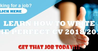 How to Write a Good CV 2019 for that amazing Job you desire- Nigeria CV Format 2019
