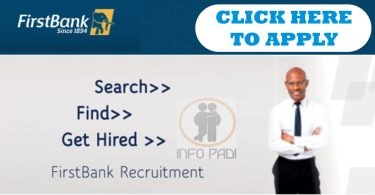 first bank nigeria jobs