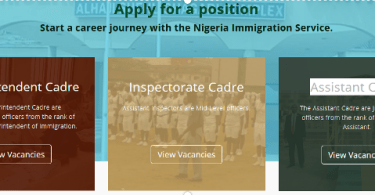 How to apply/process your 2020 Nigeria Immigration Service Application Successfully