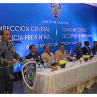 Policía Nacional inaugura Centro de Control del Crimen en Tiempo Real