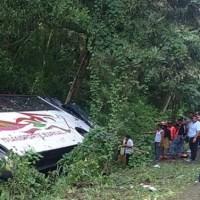 Se accidenta autobús Transporte Espinal en Bonao