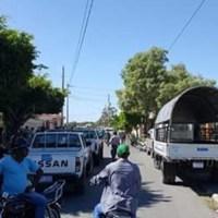 Tres atracadores muertos, uno herido y otra detenida en Baní