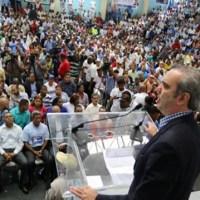"""Luis Abinader: """"supuesto apoyo del presidente Medina es percepción fabricada"""""""