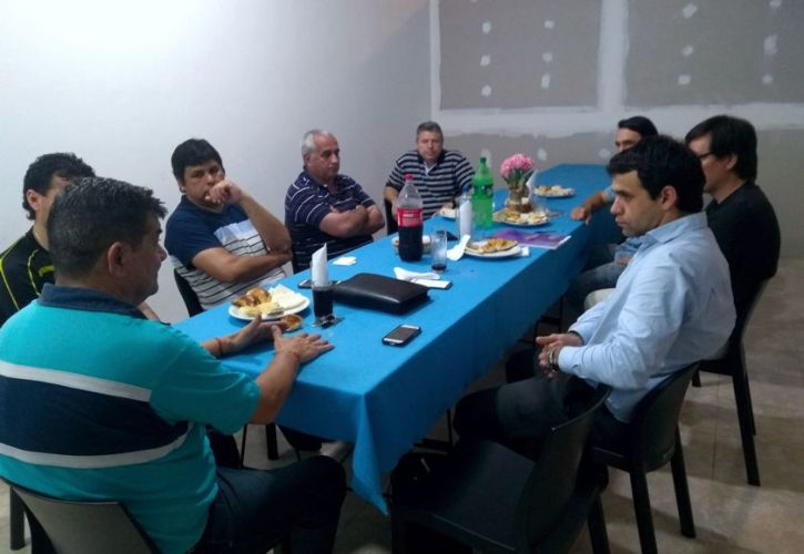 Reunión de la Liga del Paraná en Paso de la Patria