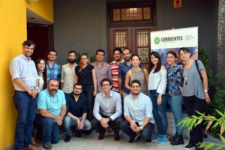 Secretario de Emprendedores y Pymes de la Nación en Corrientes