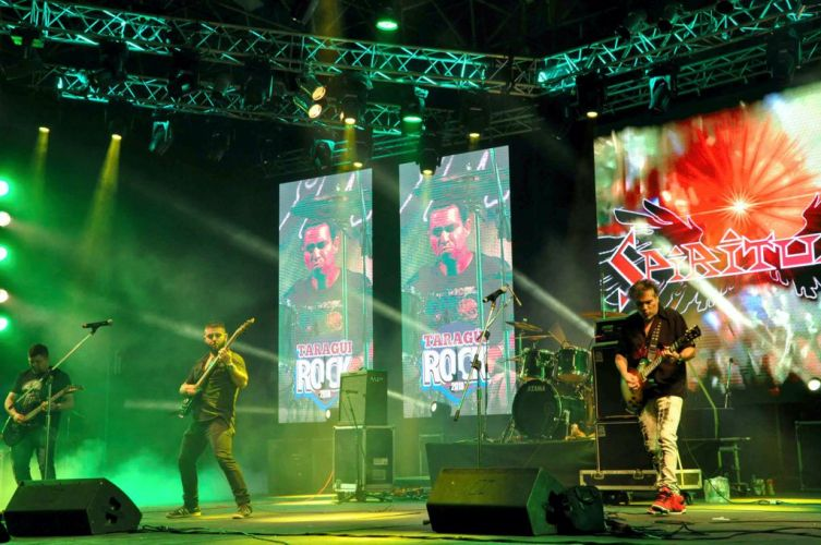 Se concretó la primera noche del Taragüí Rock 2018