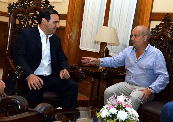 Hernán Lombardi vino a Corrientes para apoyar la Fiesta Nacional del Chamamé