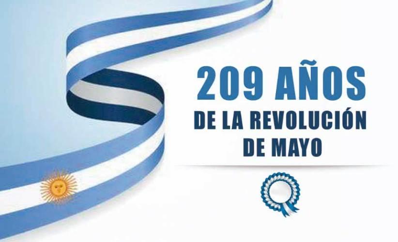 Paso de la Patria celebra la Revolución de Mayo de 1810