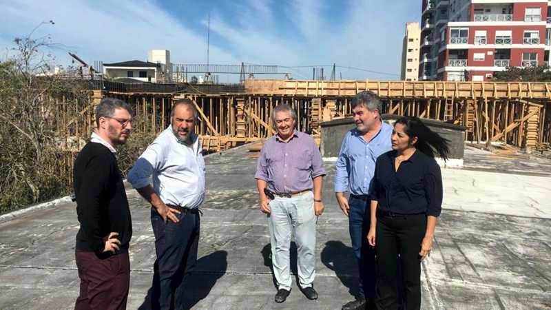 Nuevo edificio Escuela de Construcciones portuarias