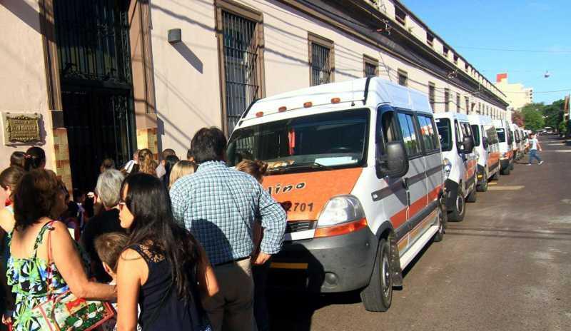 Caída en la demanda de transporte escolar en Corrientes