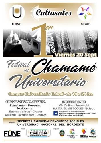 1° Festival del Chamamé Universitario