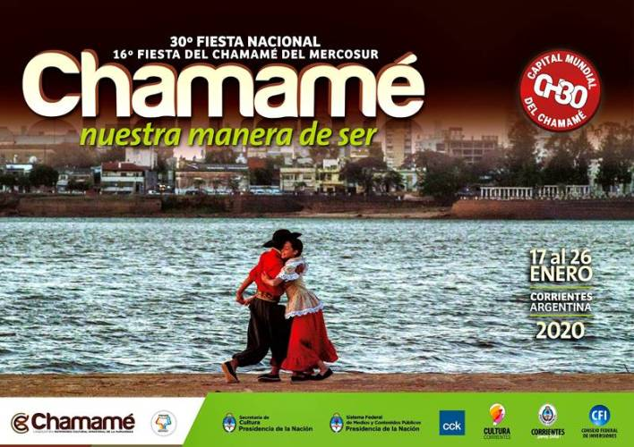 Venta de entradas 30° Fiesta Nacional del Chamamé